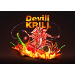 Ready boilie Devill Krill - 18mm/250g