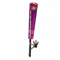 Cosmic Spinning Combo Raspberry 1-40m medium light