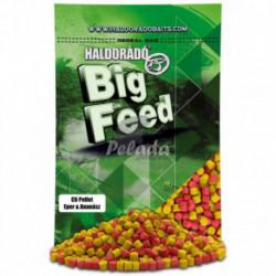 Big Feed - C6 Pellet - jahoda + ananás 2500g