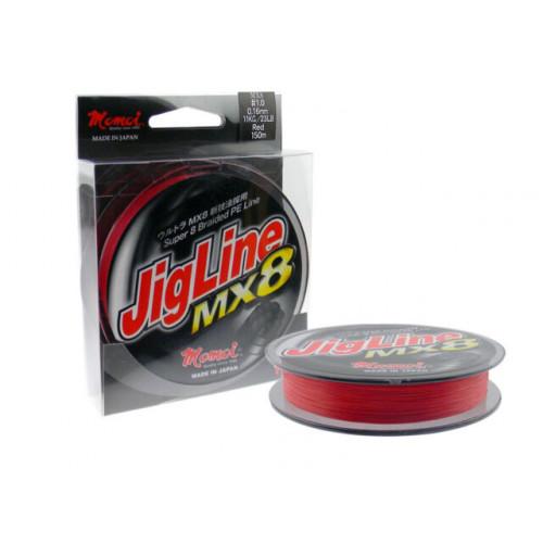 JigLine MX8 PRO  150m červená