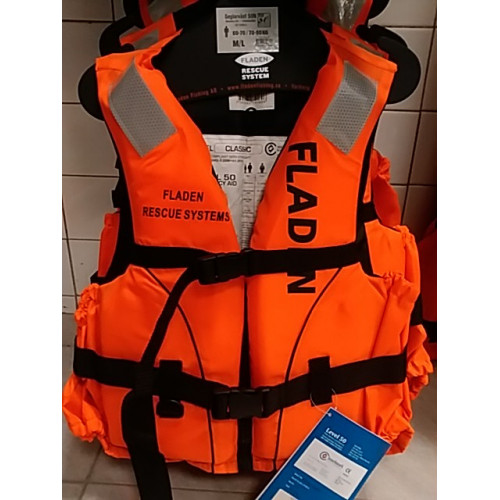 Záchranná vesta - aid Classic red 60kg+ XL/XXL
