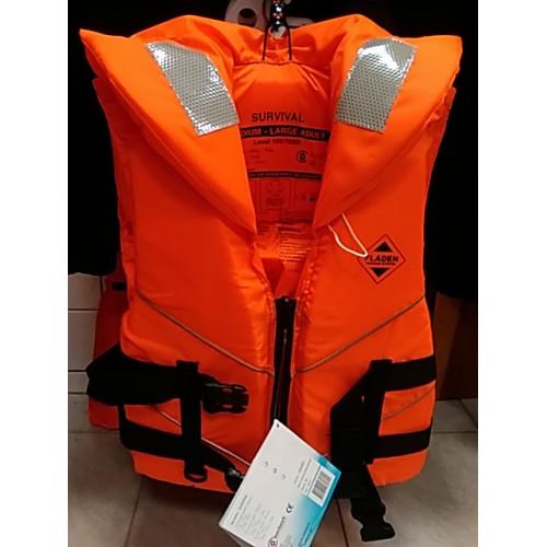 Záchranná vesta - red 60kg+ M/L