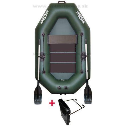 Čln Kolibri K220 T zelený + držiak