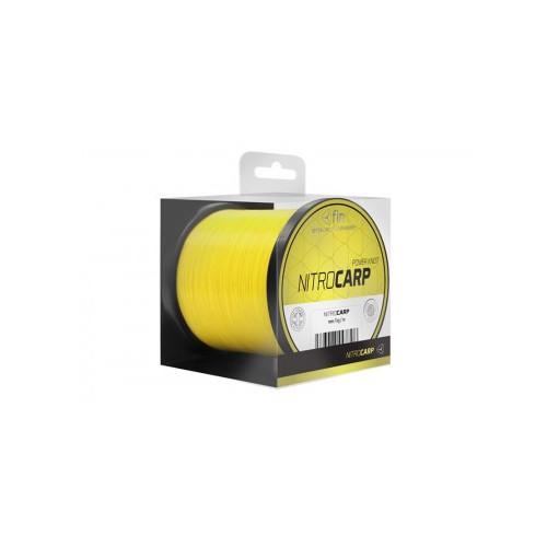 Fin Nitro Carp 300m sýta žltá 0,25mm 11,5lbs