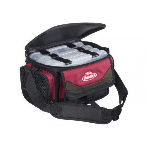 System Bag red/black 4 boxes