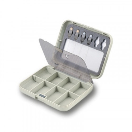 Small Compartment Fly Case W/Threaders (CF-1301)