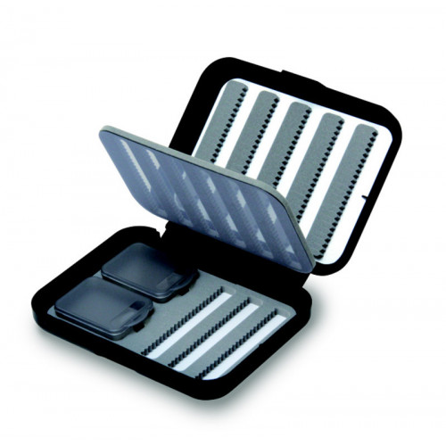 Small 8-Row Nymphing Fly Case W/Flip Page (CF-1535N)