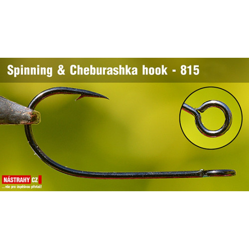 Háčik Spinning & Cheburashka 815 veľ. 2