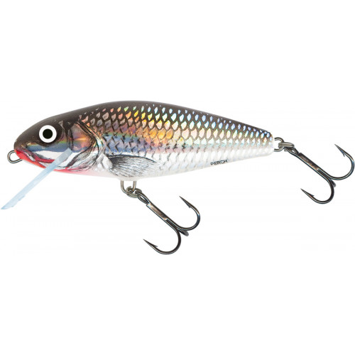 Perch Floating 8cm Holographic Grey Shiner PH8F