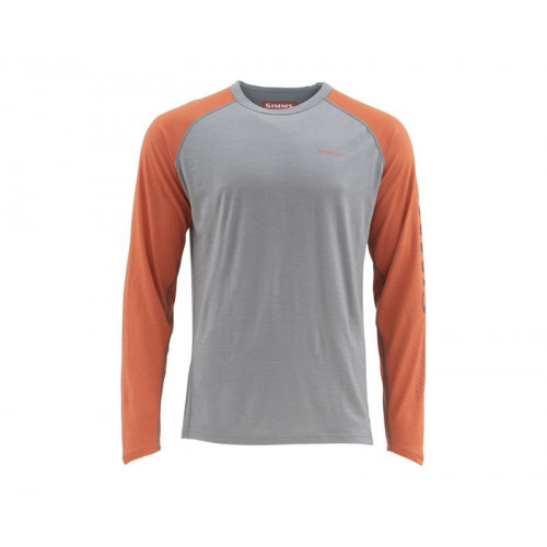 Ultra-wool Core Top L Simms Orange