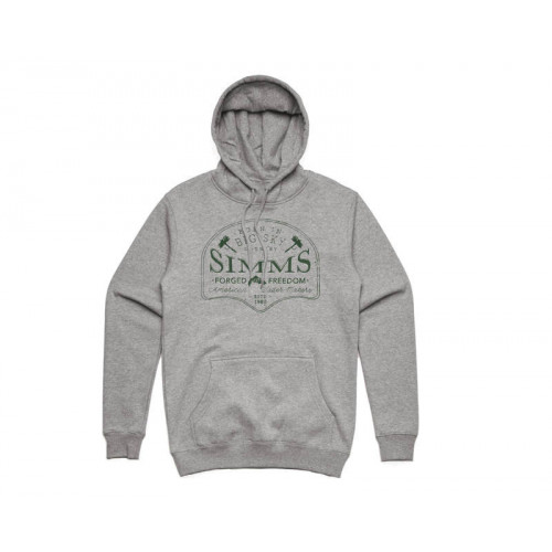 Big Sky Hoodie L Grey Heather