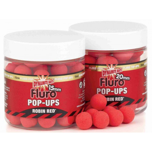 Robin Red Fluo Pop-Ups 15mm