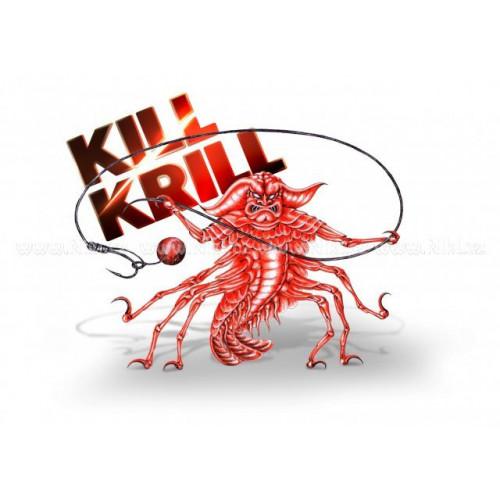 Kill Krill - plávajúce boilies - oranžová 14mm/50g