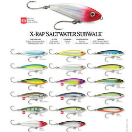 X-Rap Saltwater Subwalk